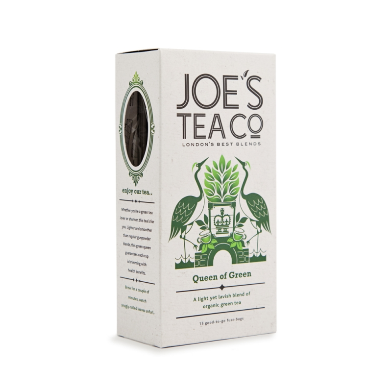 Joe's Tea Co. Queen of Green