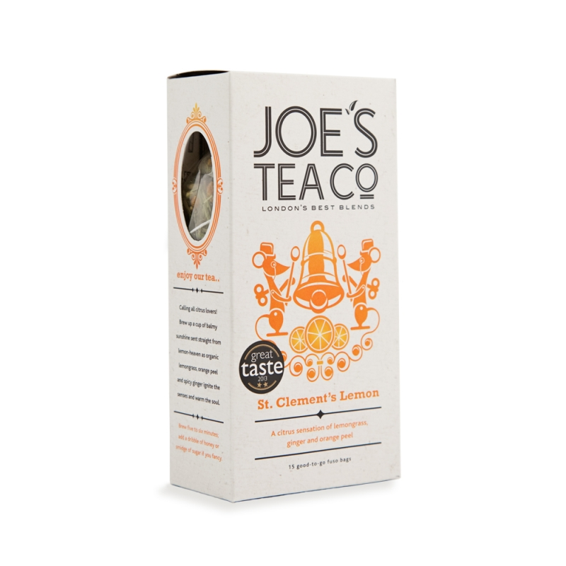 Joe's Tea Co. Joe's Tea Co. St. Clement's Lemon