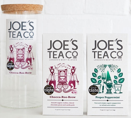 Jar and two teas for Joe's Tea Co gift set
