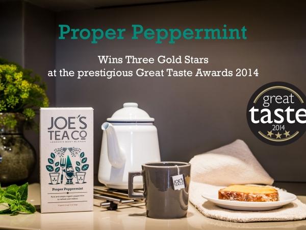 Joe's Tea Co wins 7 Great Taste Award gold stars