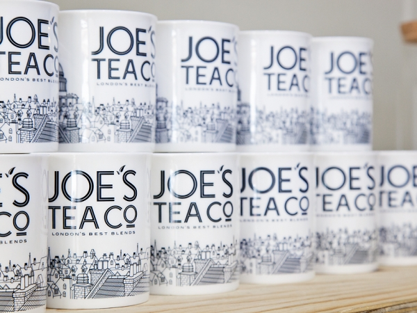 Joe's Tea Co. mugs