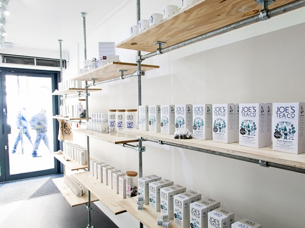 Joe's Tea Co. at Boxpark