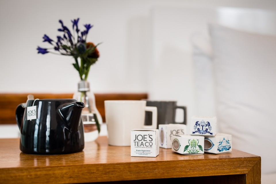 Single serve Treat your customers to a quirky cuppa with Joe's single serve matchbox range – perfect for hotel rooms, goodie bags, gifts and 'just because'…
