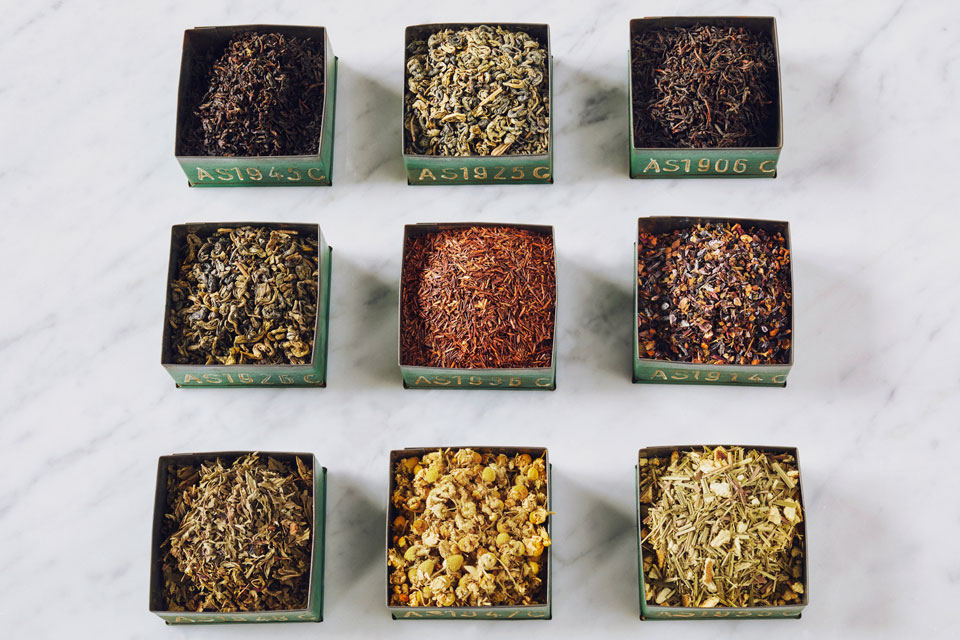 Joe's Tea Co. organic herbal teas