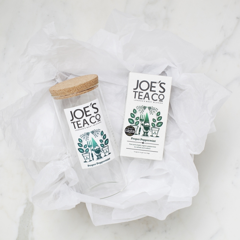 Tea and Jar for Joe's tea Co gift set