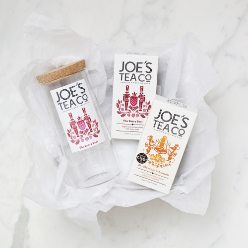 Jar and two teas for Joe's Tea Co gift set