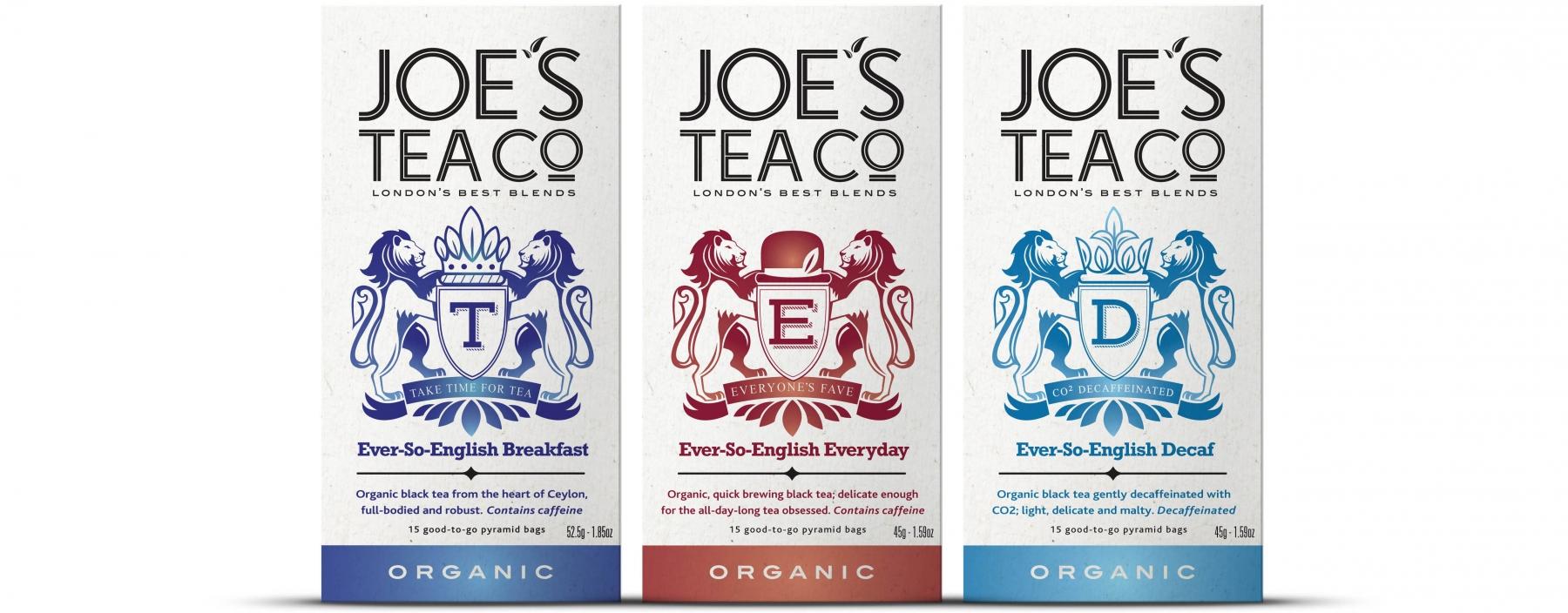 Joe's Tea Co. new ever-so-english family