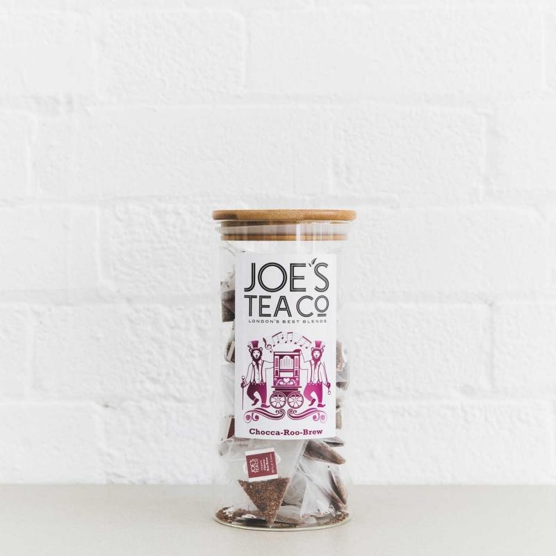 Chocca-Roo-Brew full jar - Joe's Tea Co.