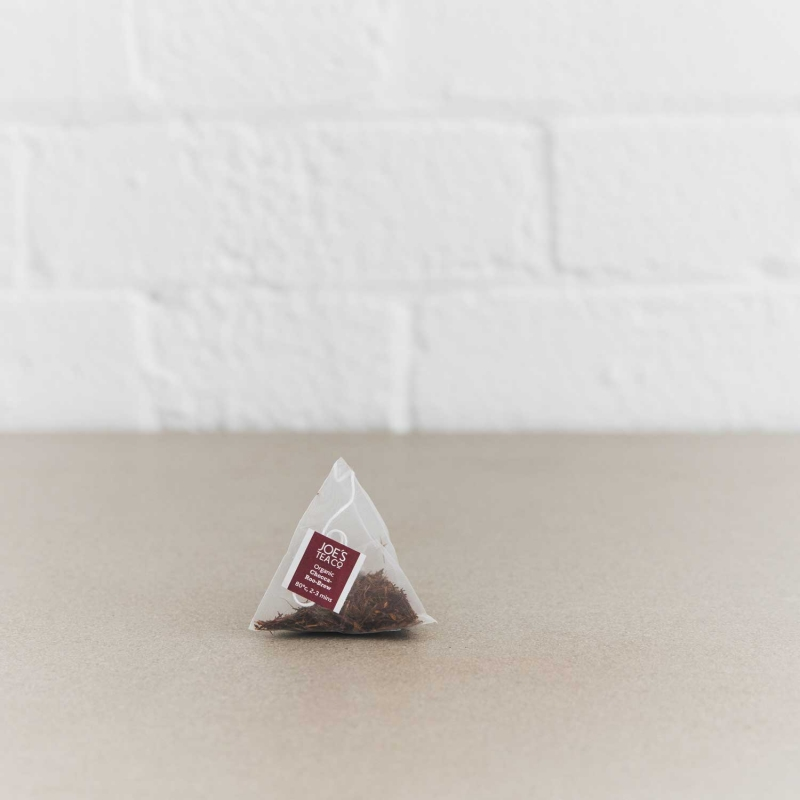 Chocca-Roo-Brew pyramid bag - Joe's Tea Co.