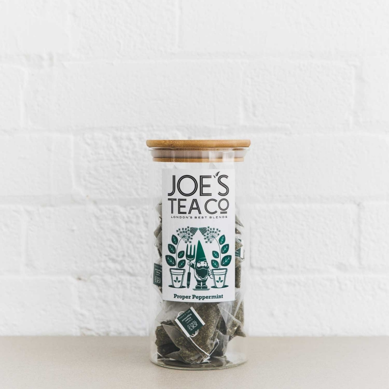 Proper Peppermint full jar - Joe's Tea Co.
