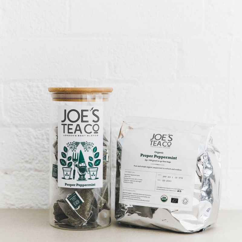 Proper Peppermint jar and 100ct - Joe's Tea Co.