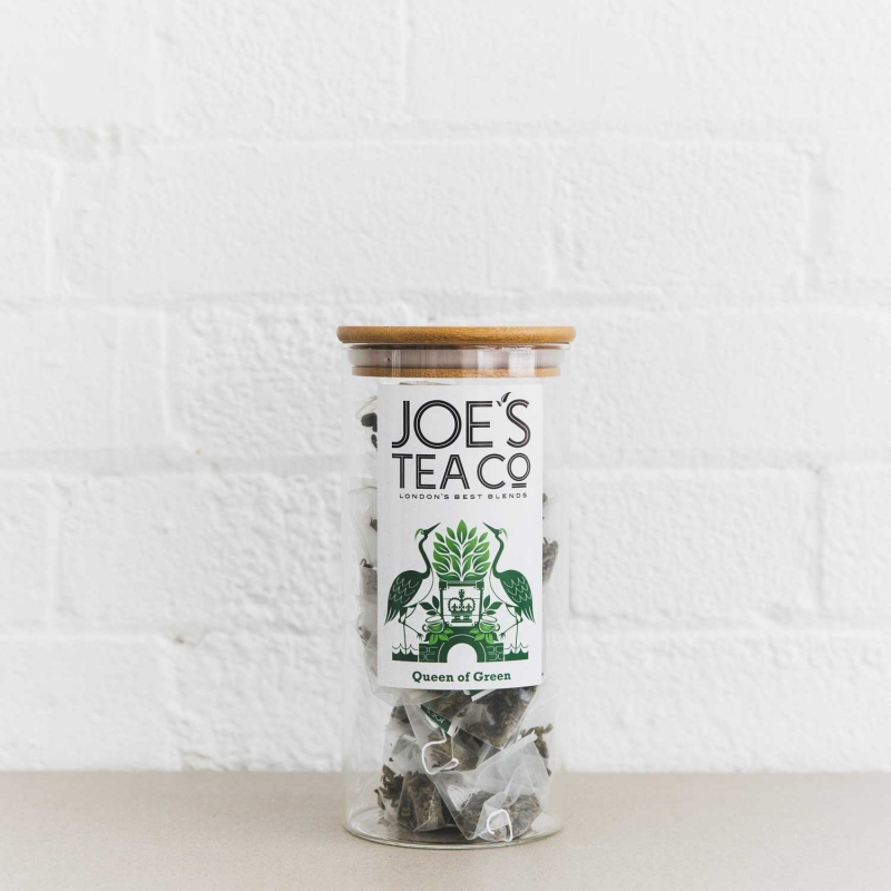 Queen of Green full jar - Joe's Tea Co.