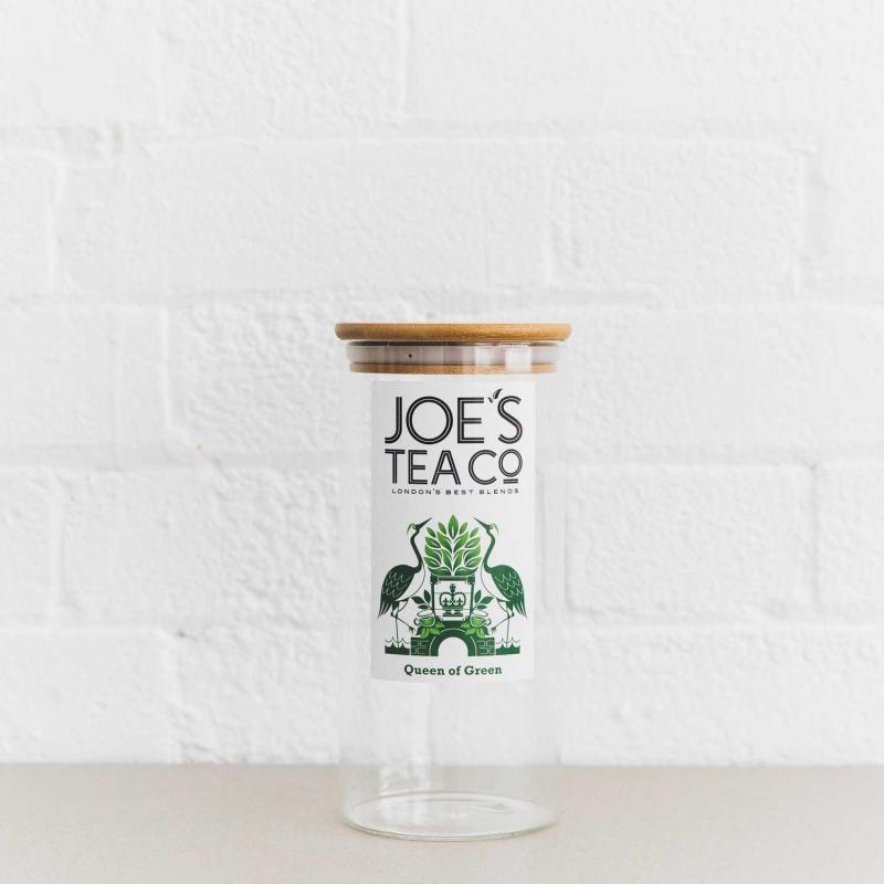 Queen of Green jar - Joe's-Tea-Co.