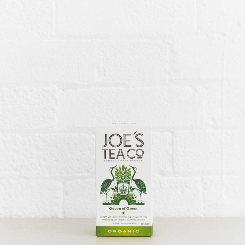 Queen of Green retail front of pack - Joe's Tea Co.