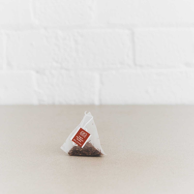 Rest-Repeat Rooibos pyramid bag - Joe's Tea Co.