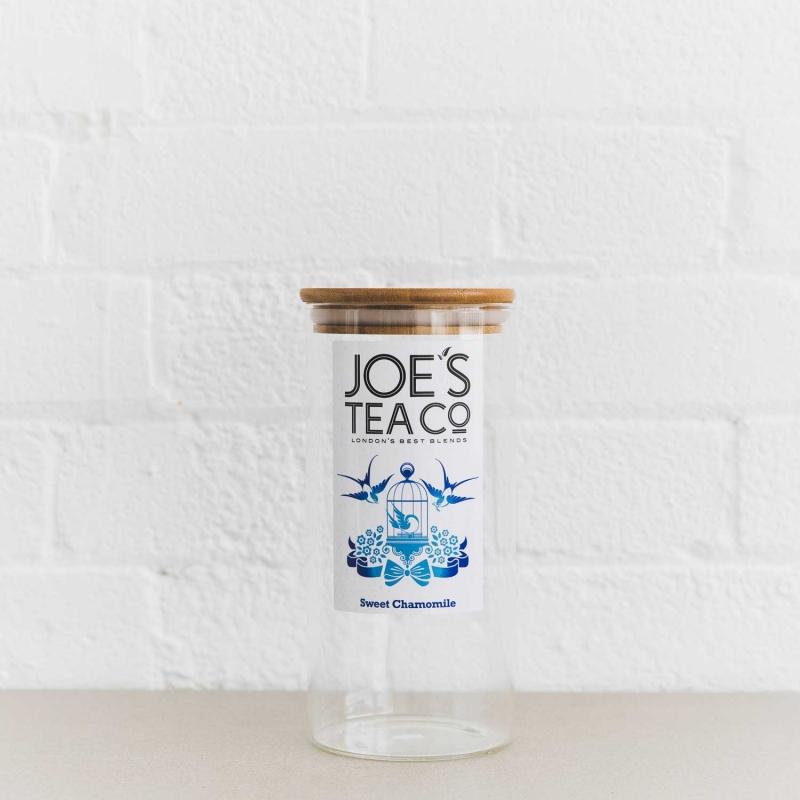 Sweet Chamomile jar - Joe's-Tea-Co.
