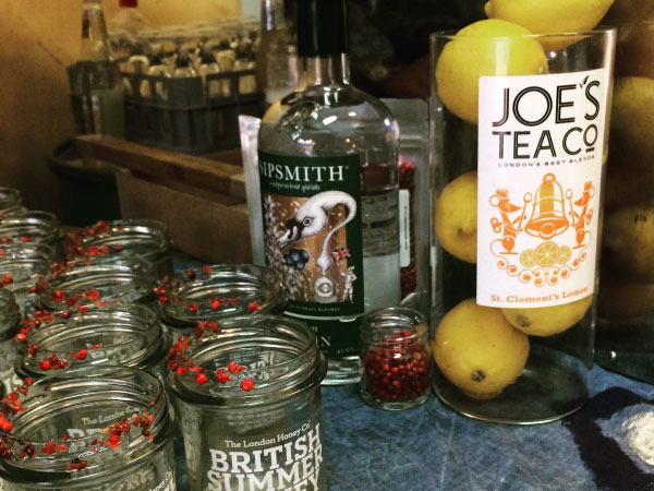 The Bee's Needs Joe's Tea Co cocktail