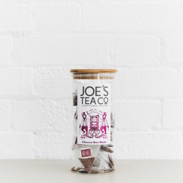 Chocca-Roo-Brew full jar - Joe's Tea Co.