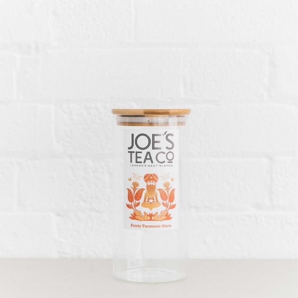 Feisty Turmeric Guru jar - Joe's-Tea-Co.