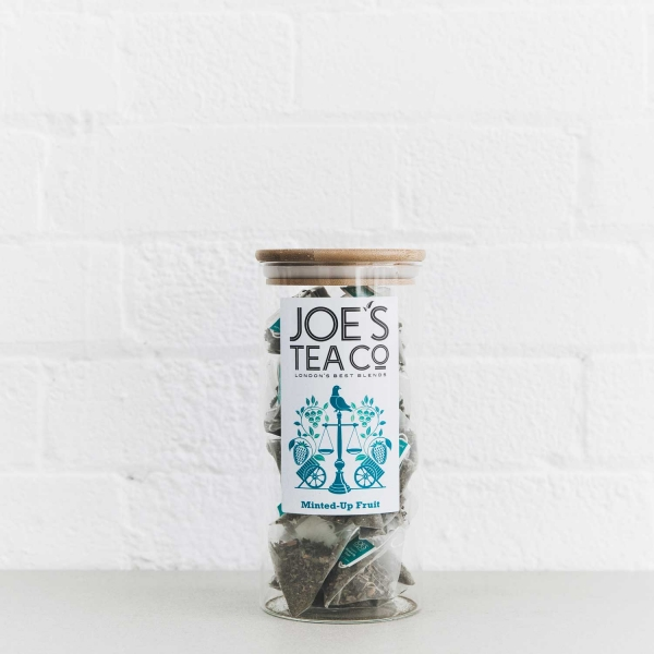 Minted-Up Fruit full jar - Joe's Tea Co.