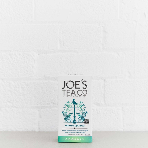 Minted-Up Fruit retail front of pack - Joe's Tea Co.