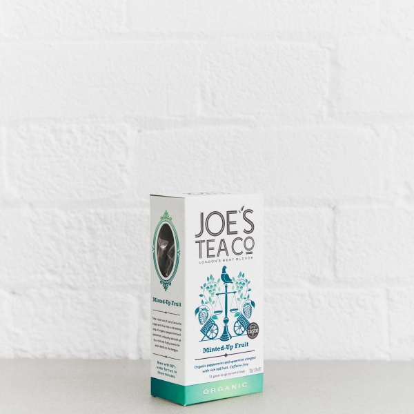 Minted-Up Fruit retail side of pack - Joe's Tea Co.
