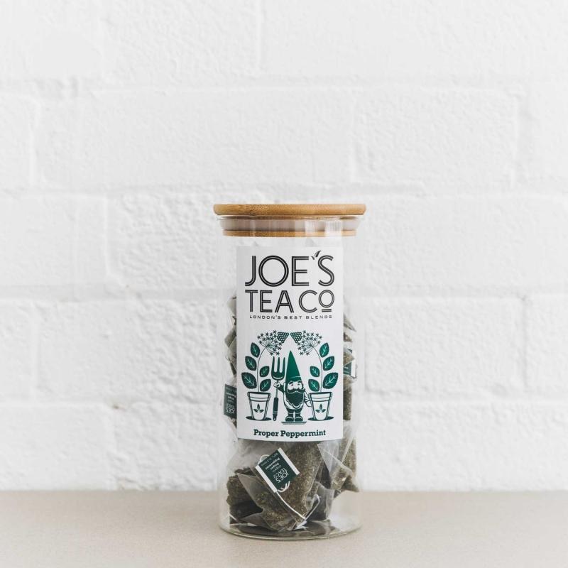 Proper Peppermint full jar - Joe's Tea Co.