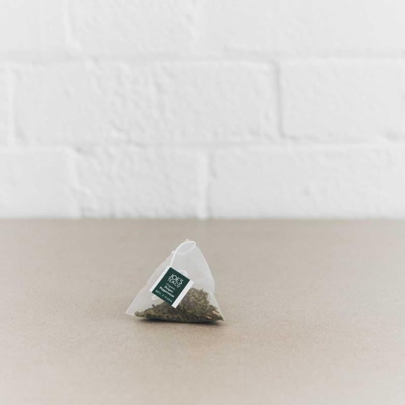 Proper Peppermint pyramid bag - Joe's Tea Co.