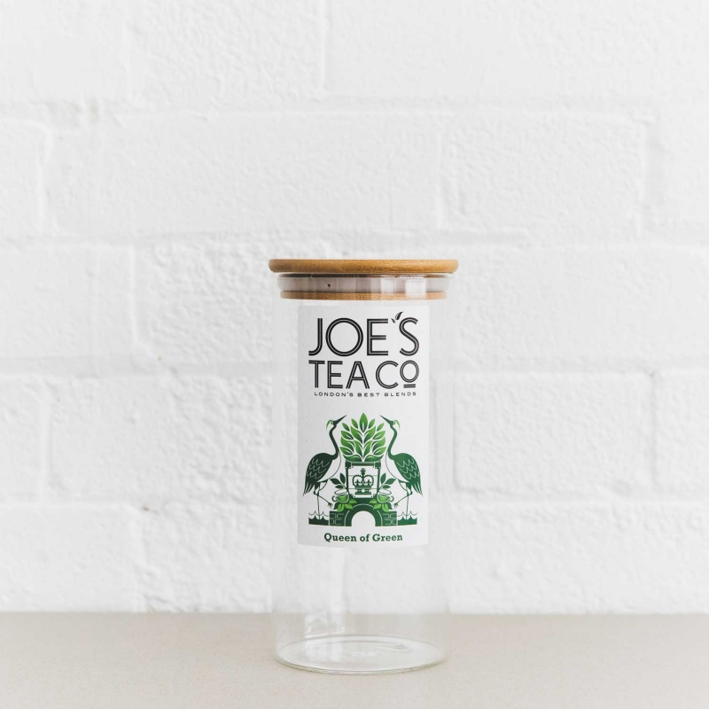 Queen of Green jar - Joe's-Tea-Co.