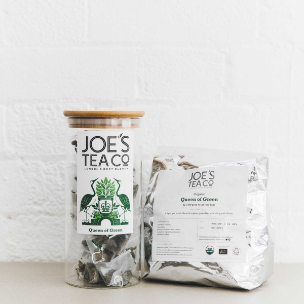 Queen of Green jar and 100ct - Joe's Tea Co.