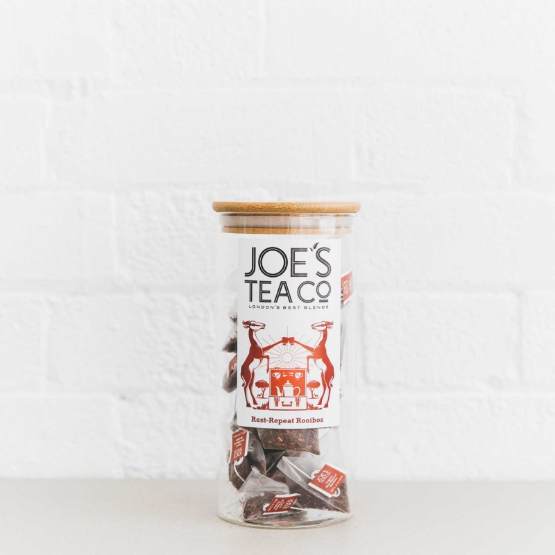 Rest-Repeat Rooibos full jar - Joe's Tea Co.