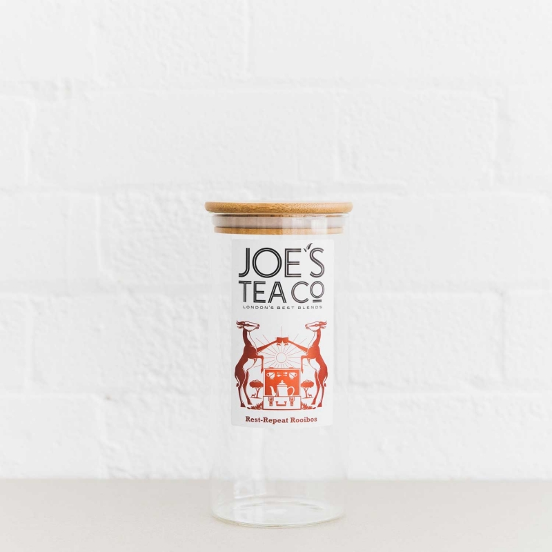 Rest-Repeat Rooibos jar - Joe's-Tea-Co.
