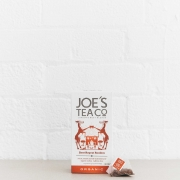 Rest Repeat Rooibos retail front of pack with pyramid bag - Joe's-Tea-Co.