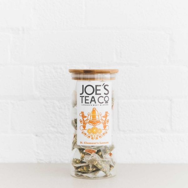 St. Clement's Lemon full jar - Joe's Tea Co.
