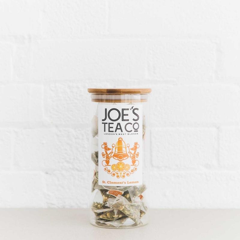 St. Clement's Lemon full jar - Joe's Tea Co.