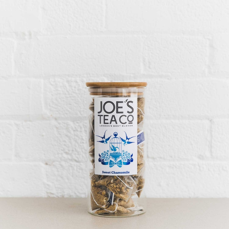 Sweet Chamomile full jar - Joe's Tea Co.