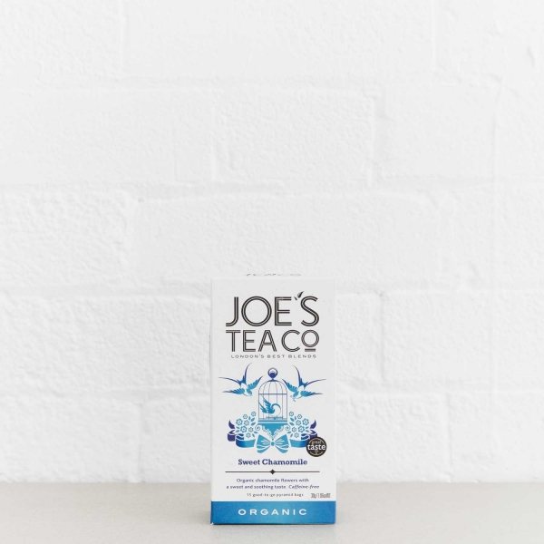 Sweet Chamomile retail front of pack - Joe's Tea Co.