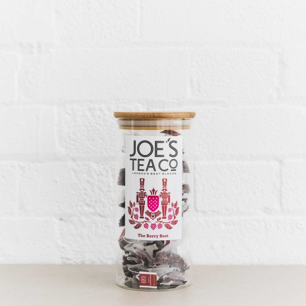 The Berry Best full jar - Joe's Tea Co.