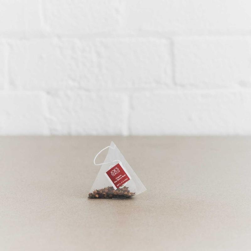 The Berry Best pyramid bag - Joe's Tea Co.