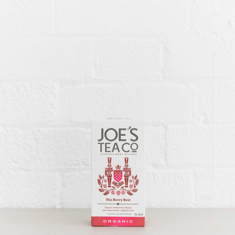 The Berry Best retail front of pack - Joe's Tea Co.