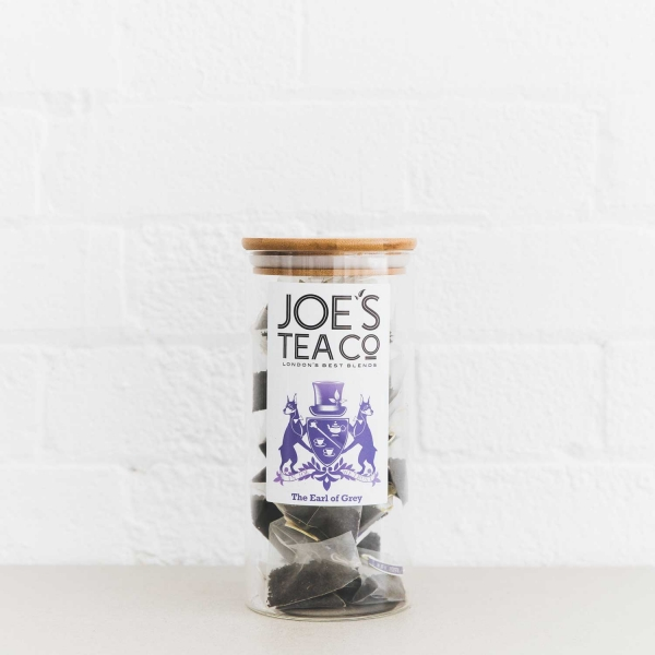 The Earl of Grey full jar - Joe's Tea Co.