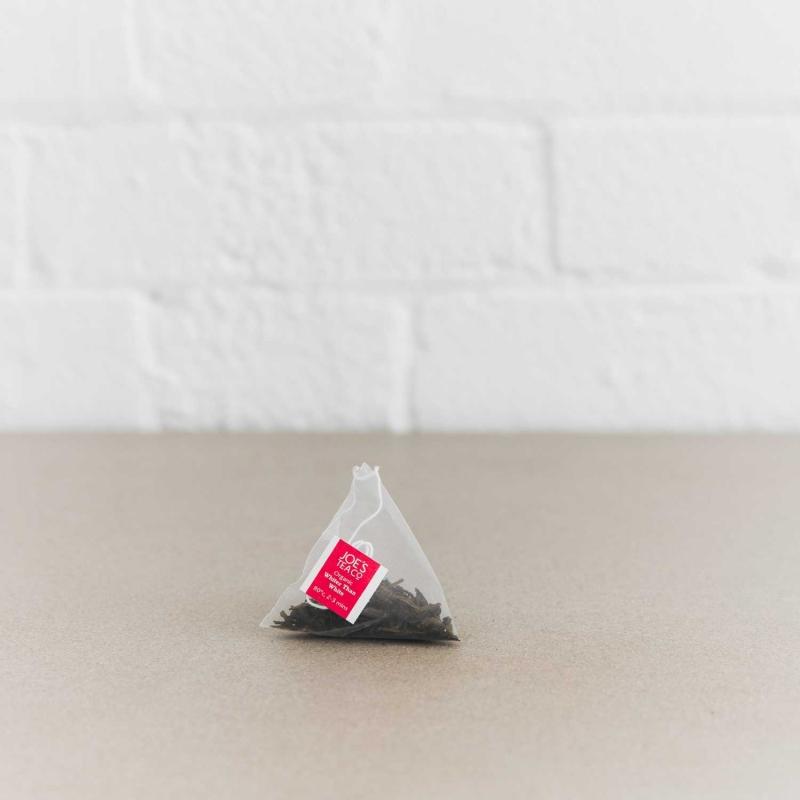 Whiter Than White pyramid bag - Joe's Tea Co.