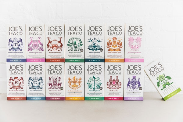 Joe's Tea Co. full new retail range