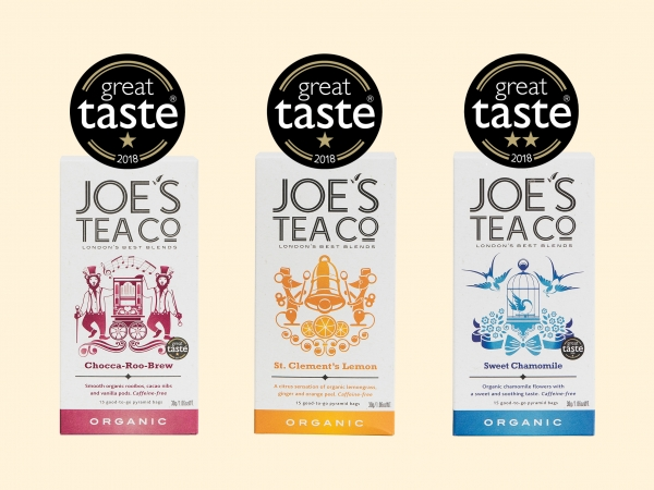 Joe's Tea Co. Great Taste Awards 2018